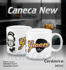 Caneca New Branca 360 ml